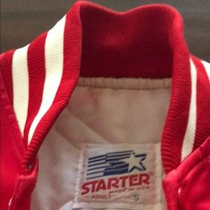 STARTER • Made in the USA • Bomber Jacket • Sz Sm